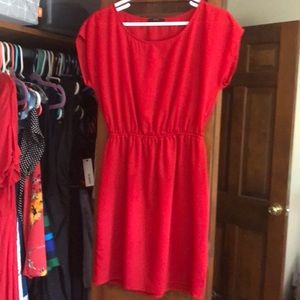 Cute red dress for summer!